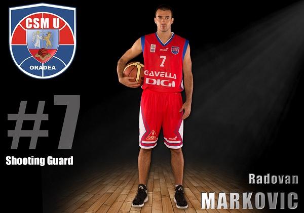 Radovan Markovic continuă alături de CSM-U Oradea