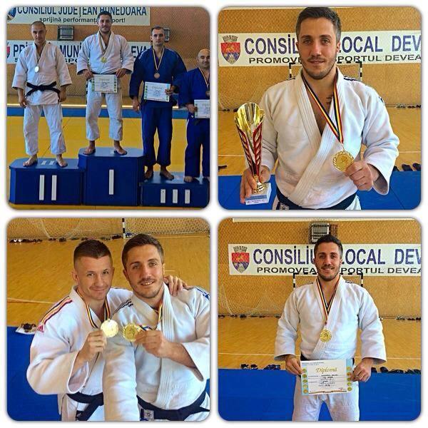 Medalii de aur pentru Schwartz și Fâșie la CN de Judo al MAI