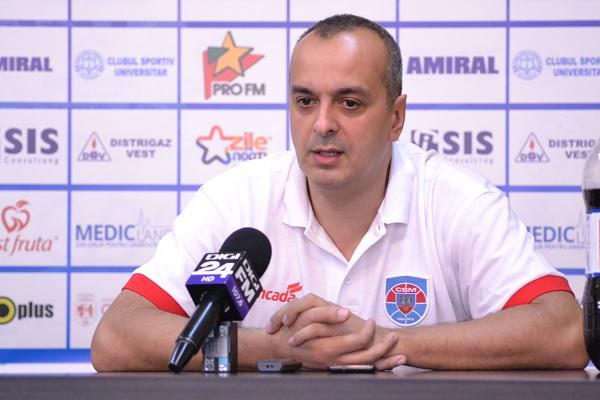 Declarații Șerban Sere, președinte CSM Oradea, despre parcursul echipei de baschet masculin