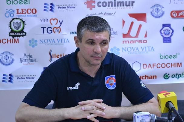 Declarații Cristian Achim după Meciul 3 al finalei Ligii Naționale
