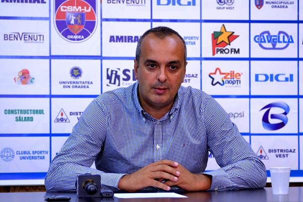 Șerban Sere, președinte CSM Oradea, vorbește despre finala LEN EuroCup