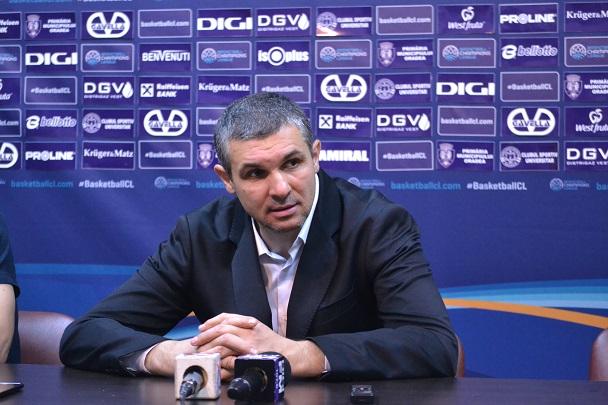 Declarații Cristian Achim după meciul cu Pinar Karsiyaka