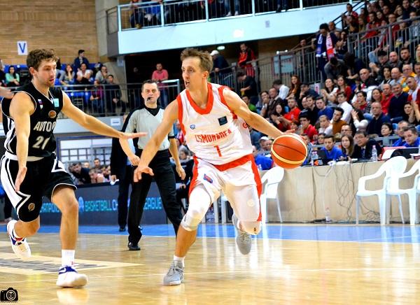 Branko Mirkovic inclus în echipa ideală a etapei a 3-a din Basketball Champions League