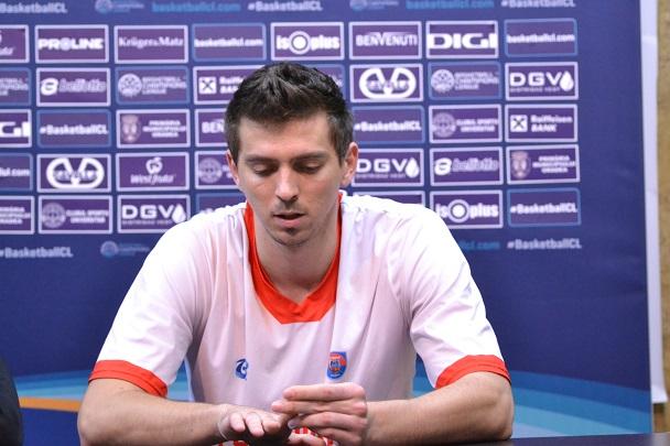 Bogdan Țîbîrnă vorbește despre succesul lui Khimik din Basketball Champions League