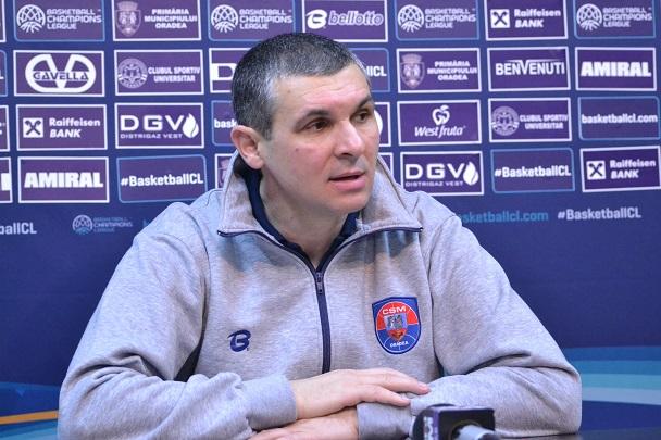 Declarații Cristian Achim după meciul cu CSU Sibiu