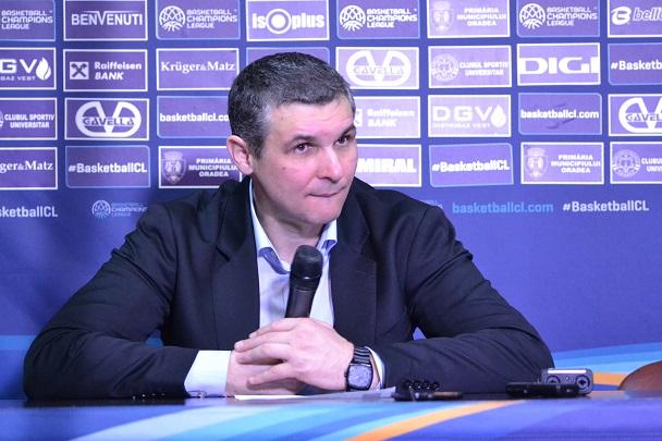 Declarații Cristian Achim după victoria cu Kataja Basket
