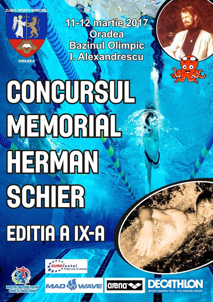 """Memorialul """"Schier Herman"""" 2017 – 11/12 martie"""