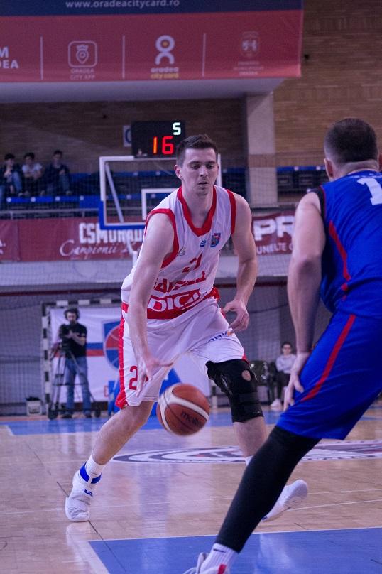 Bogdan Țîbîrnă este singurul jucător al echipei care a disputat toate meciurile