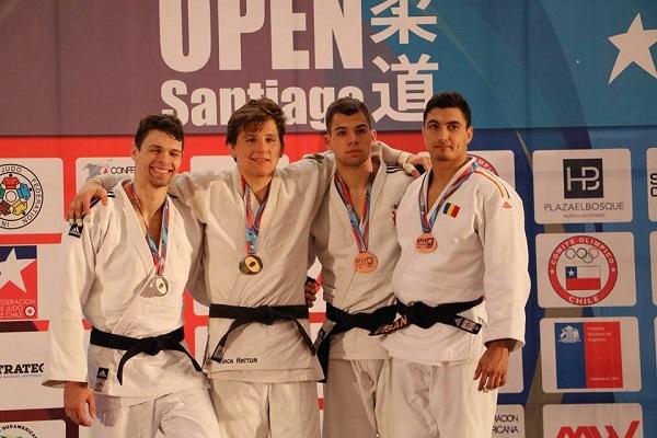 Medalie de bronz pentru Vlad Vișan la Panamerican Open de la Santiago de Chile