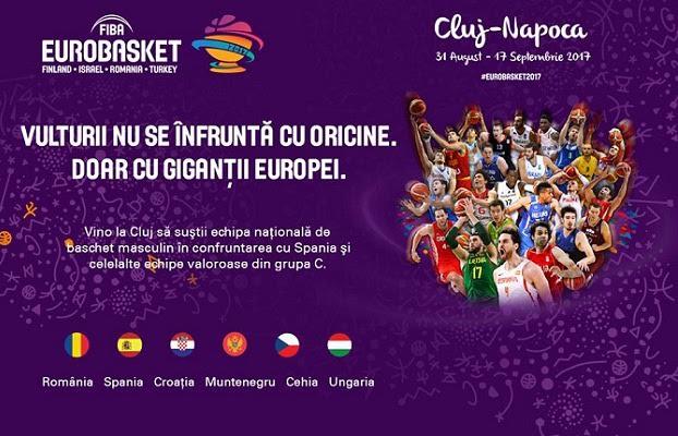 Bilete si abonamente pentru FIBA Eurobasket 2017!