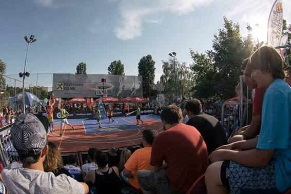 Oradea inclusă în circuitul Sport Arena Streetball Tour 2017