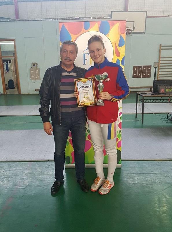 Bianca Benea a câștigat Cupa României la spadă feminin – ediția 2017
