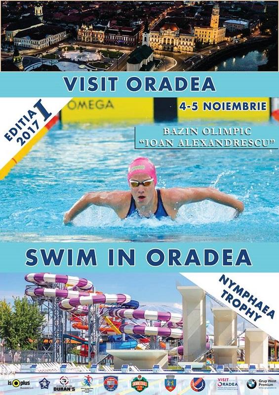 Visit Oradea, Swim in Oradea, Nymphaea Trophy 2017 – Ediția 1