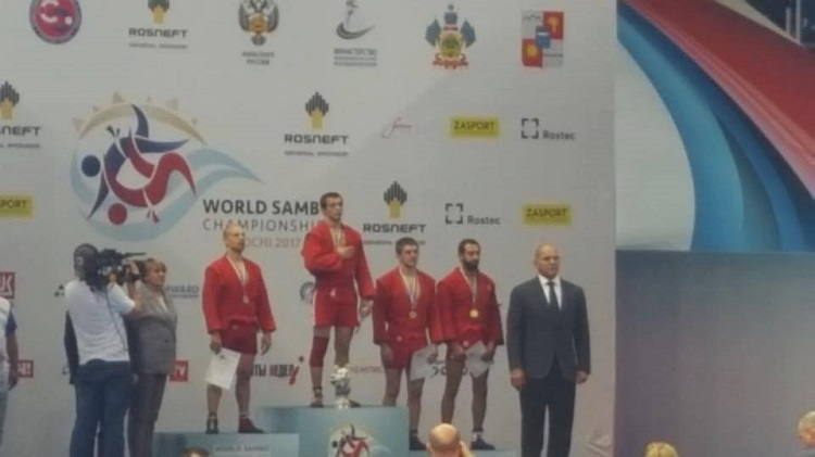 Laszlo Szoke este vicecampion mondial de Sambo